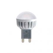 AMPOULE LED G9 RONDE BLANC CHAUD