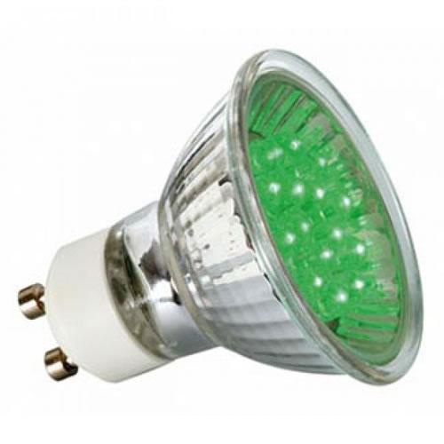 ampoule 20 led gu10 pour spot lumi re color e. Black Bedroom Furniture Sets. Home Design Ideas