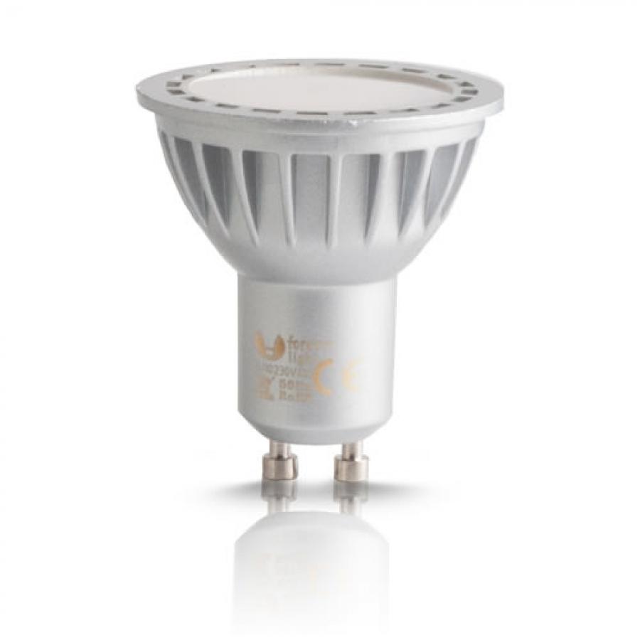 ampoule led gu10 pour spot 2 intensit s de lumi re blanche. Black Bedroom Furniture Sets. Home Design Ideas