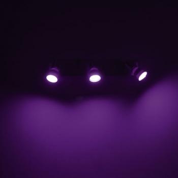 ampoule led gu10 pour spot rvb lumi re color e. Black Bedroom Furniture Sets. Home Design Ideas