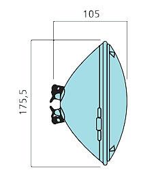 Ampoule led par 56 pour piscine sylvania for Ampoule piscine par56