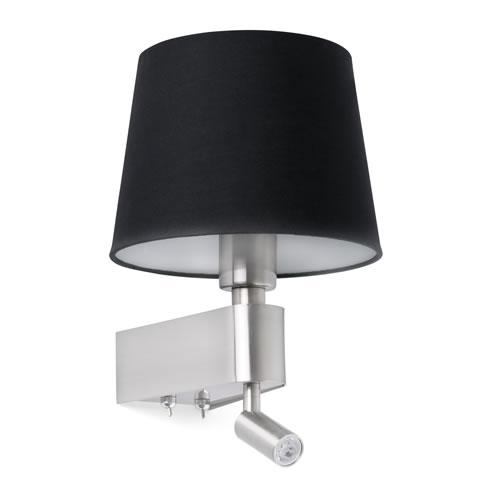 applique led room avec sa liseuse applique led. Black Bedroom Furniture Sets. Home Design Ideas