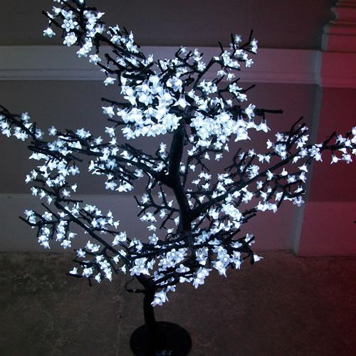 Cerisier lumineux a led m cerisier lumineux led - Arbre lumineux led interieur ...