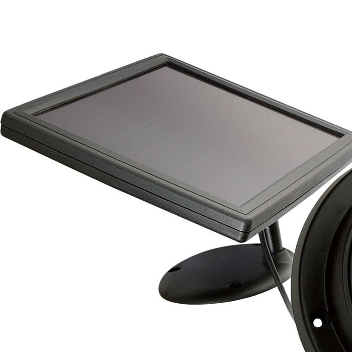applique led solaire avec telecommande eclairage led solaire. Black Bedroom Furniture Sets. Home Design Ideas