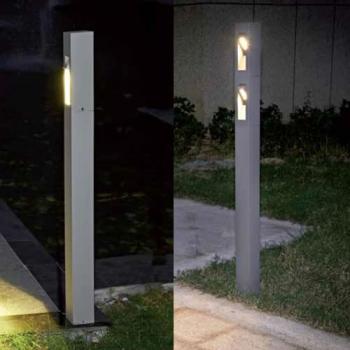 Potelet led filo pour eclairage exterieur for Luminaire exterieur puissant