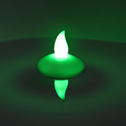 bougie led flottante color e avec allumage au contact de l 39 eau. Black Bedroom Furniture Sets. Home Design Ideas