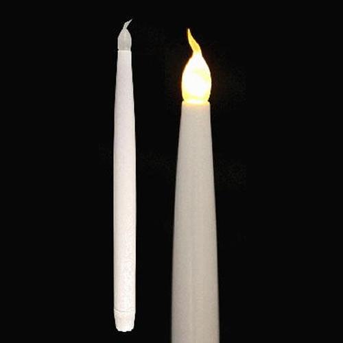 cierge led piles pack de 2 bougies. Black Bedroom Furniture Sets. Home Design Ideas