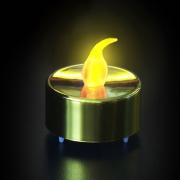 BOUGIE LED CHAUFFE PLAT DOREE