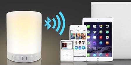Lampe LED Bluetooth