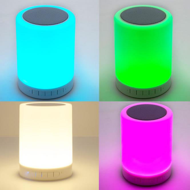 lampe led bluetooth salsa ambiance lumineuse led. Black Bedroom Furniture Sets. Home Design Ideas