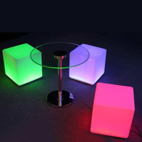 Cubes lumineux led 40 x 40 cm nirvana cubes lumineux for Cube lumineux exterieur