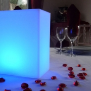 CENTRE DE TABLE LUMINEUX LED KOOKI