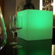 CUBES LUMINEUX LED 25 x 25 CM NIRVANA