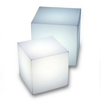 Cubes lumineux led 20 x 20 cm nirvana cubes lumineux for Cube lumineux exterieur sans fil