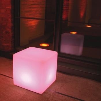 cubes lumineux led 30 x 30 cm nirvana cubes lumineux sans fil. Black Bedroom Furniture Sets. Home Design Ideas