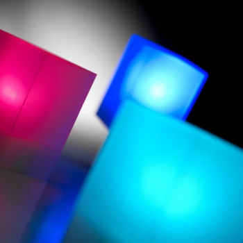OFFRE SPECIALE 10 CUBES LED RVB