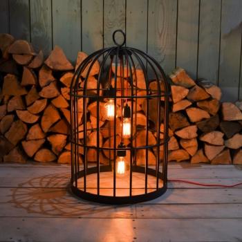 LAMPE BIRD CAGE XL