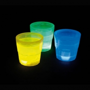 VERRE SHOOTER FLUO LOT DE 24 PIECES