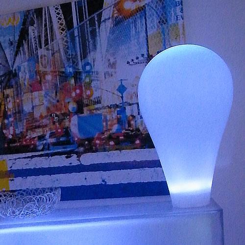 In out lampe led sans fil amp d coration led pour jardin for Lampe exterieure sans fil