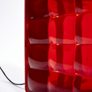 ILLUMINATE LAMP - LAMPE A POSER ROUGE