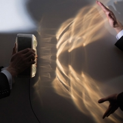 ILLUMINATE LAMP - LAMPE A POSER BLANCHE