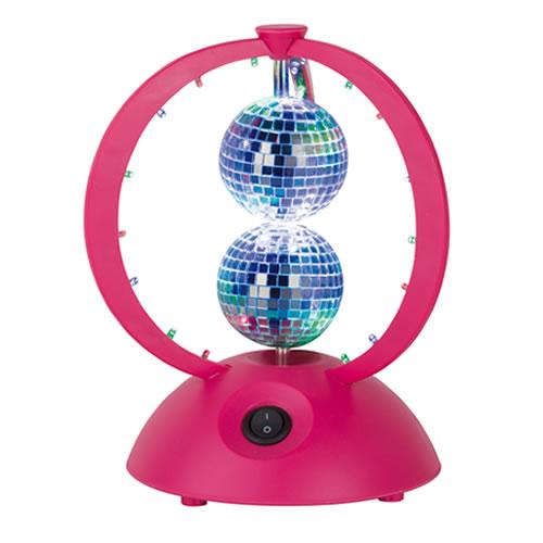 Double boule a facette disco jeux de lumi re - Ampoule boule a facette ...