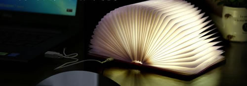 Lampe LED livre