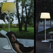 LAMPADAIRE LED PLIS OUTDOOR
