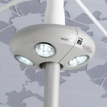 lampe led sans fil pour parasol luminaire led ext rieur. Black Bedroom Furniture Sets. Home Design Ideas