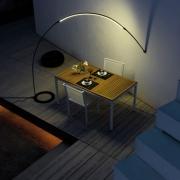 Lampe Arche LED Halley - sol-mur