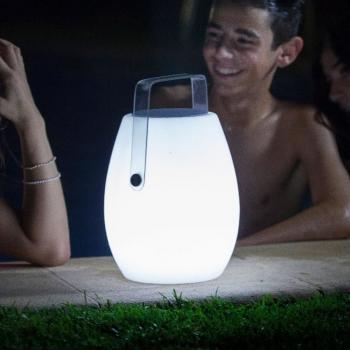 LAMPE LED AVEC HAUT-PARLEUR BARREL