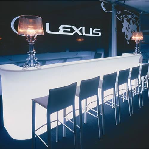bar lumineux droit jumbo bar lumineux design. Black Bedroom Furniture Sets. Home Design Ideas