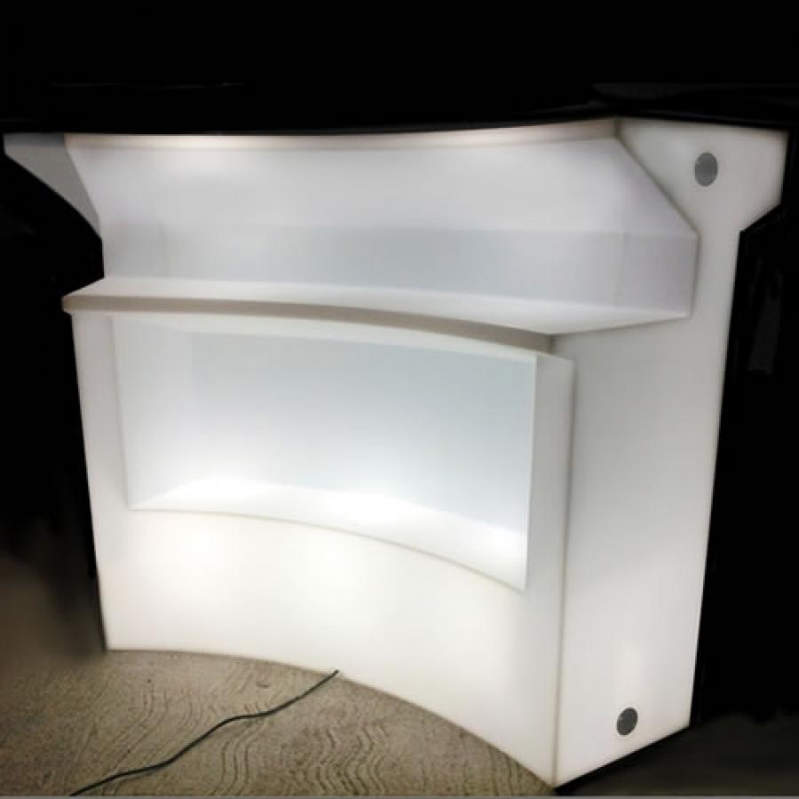 Bar lumineux led le comptoir bar lumineux avec ou sans fil for Bar lumineux