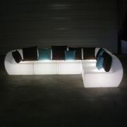 Fauteuil lumineux pour jardin table de lit - Mobilier jardin lumineux ...