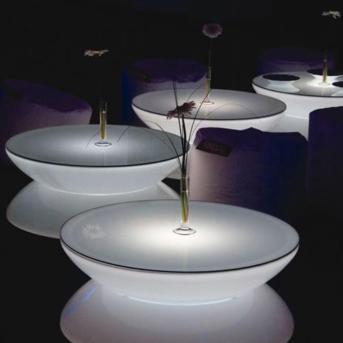 table basse lumineuse lounge multicolor led. Black Bedroom Furniture Sets. Home Design Ideas