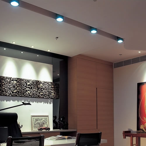 plafonnier led cylindre noir plafonnier led. Black Bedroom Furniture Sets. Home Design Ideas