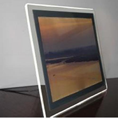 Porte affiche format a4 pour comptoir led for Porte affiche exterieur