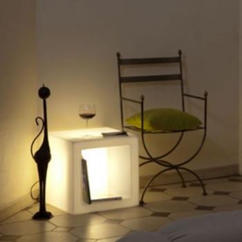 cache pot lumineux plaza petite taille pot lumineux led. Black Bedroom Furniture Sets. Home Design Ideas