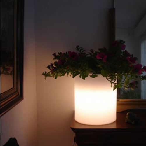 cache pot lumineux mojito pot lumineux led. Black Bedroom Furniture Sets. Home Design Ideas