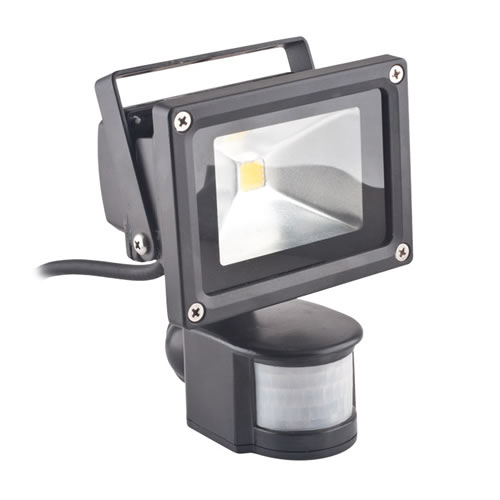 projecteur led 10w avec detecteur projecteur led avec d tecteur. Black Bedroom Furniture Sets. Home Design Ideas