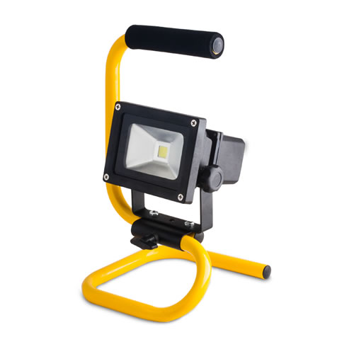 Projecteur led rechargeable 10 watts for Eclairage exterieur led rechargeable