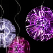 SUSPENSION LED CORAL BALL