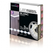 RUBAN LED BLANC FROID PACK 3M