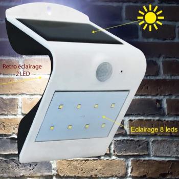 APPLIQUE LED SOLAIRE WAVE
