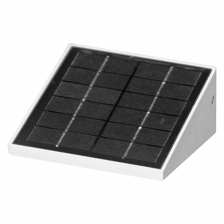 applique led solaire iris eclairage led solaire. Black Bedroom Furniture Sets. Home Design Ideas