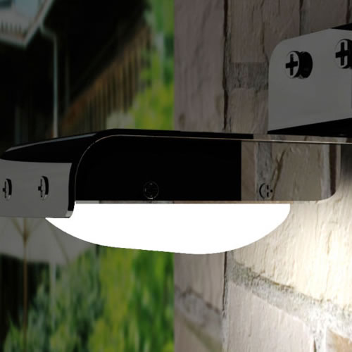 applique led solaire sensor eclairage led solaire. Black Bedroom Furniture Sets. Home Design Ideas