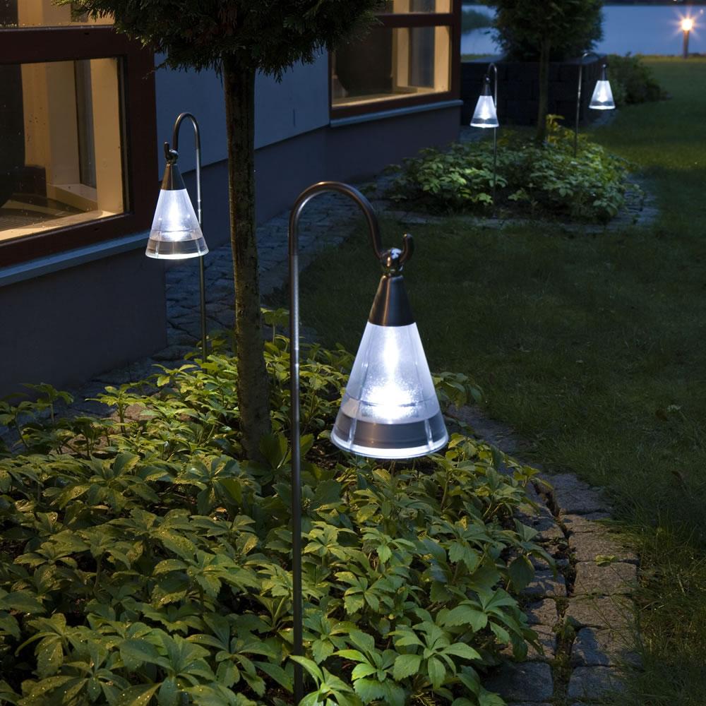 lanterne cone led solaire led solaire. Black Bedroom Furniture Sets. Home Design Ideas