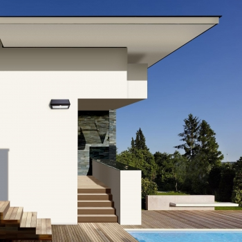 applique led solaire avec detecteur eclairage led solaire. Black Bedroom Furniture Sets. Home Design Ideas