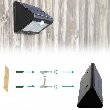 Applique led solaire avec detecteur eclairage led solaire for Applique murale solaire exterieur avec detecteur
