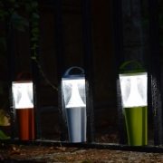 LAMPE LED BUTTERFLY SOLAIRE